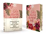 Best Journaling Bibles - NIV, Artisan Collection Bible, Cloth over Board, Pink Review