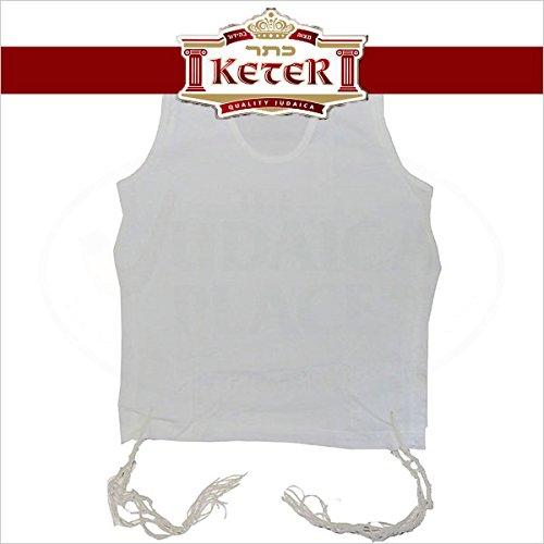 PerfTzit Undershirt Tzitzis Keter Ashkenazi Meyuchad (6, 5) by Keter Judaica (Image #5)