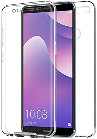 Mb Accesorios Huawei Y7 2018/Honor 7C Funda DE Silicona Delantera ...