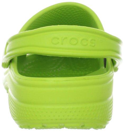 Crocs Unisex Klassiske Træsko Volt Grøn vni2jO