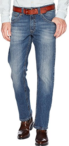 Straight Rock - Wrangler Men's Rock 47 Slim Straight Jean, Soul, 36X36