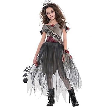 outlet store c214d cb29f Amscan Halloween - Costume da Regina Zombie, da Ragazza, 12-14 Anni