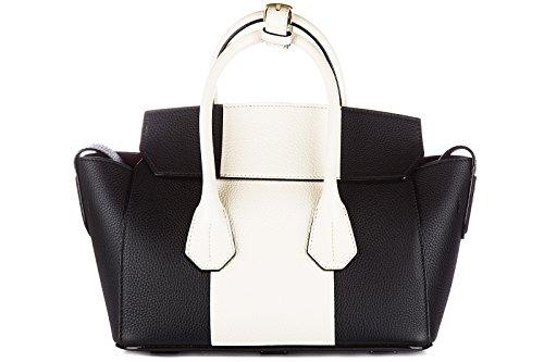 Bally sac à main femme en cuir sommet noir