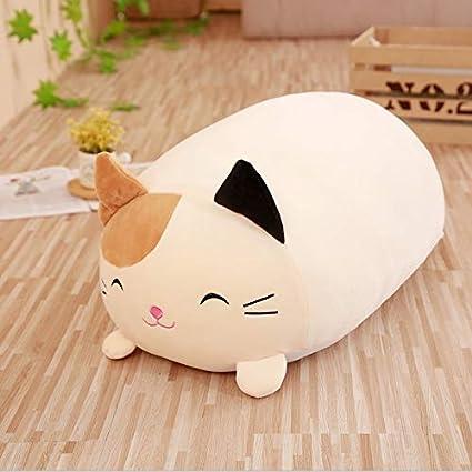 de1086deaa3 Plush Pillow - Cute Fat Dog Cat Totoro Penguin Pig Frog Plush Toy Stuffed  Soft Animal