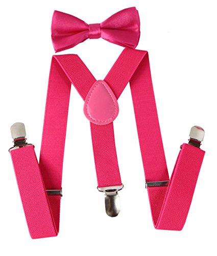 toddler bow ties pink - 6