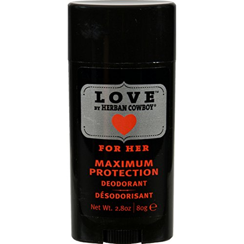 Price comparison product image Herban Cowboy Deodorant - Love Maximum Protection For Her - 2.8 oz - Dairy Free