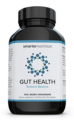 Smarter Gut Health Probiotics – Superior Digestive & Immune Support from 100% Soil-Based Probiotic – Includes Premium Prebiotic Preticx to Help Keep Good Bacteria Healthy & Growing (30 Servings)