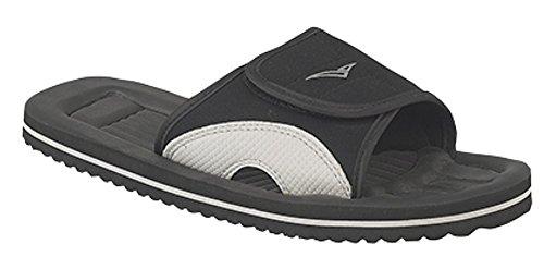 Para hombre Mule Flip Flop sandalias de playa de Surfer negro