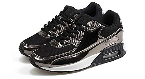 Mujer Cómodos Ligero Zapatillas Casuales Peso Zapatos Cuña Tacón Deportivos Fitness Damas Invisible Deporte Planos De Otoño Ysfu Z7wqtZ