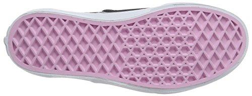 Vans Mädchen UY Authentic Sneakers Schwarz (Hidden Kittens)