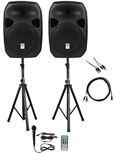 Rockville Power GIG RPG-122K All In One DJ/PA Package (2) 12