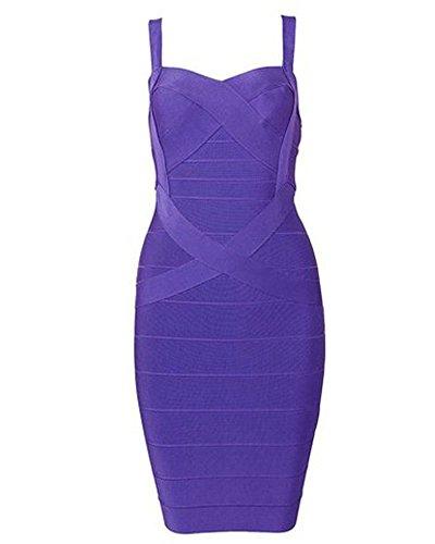 Buy beautiful short purple dresses - 2