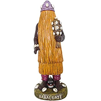 Amazon com: Santo Orisha BABALU Aye Statue Babalu Aye Estatua
