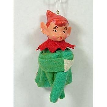 Amazon Com 1940s Vintage Style Green Elf On A Shelf Doll
