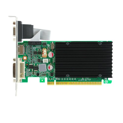 (EVGA GeForce 8400 GS Passive 512 MB DDR3 PCI Express 2.0 DVI/HDMI/VGA Graphics Card,)