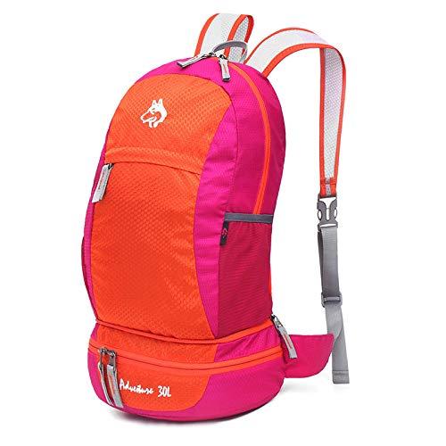 Red 30l Prueba De Viaje A función Laptop Mochilas Alpinismo Agua Multi Bolsas Mochila Deportes Plegable Para BTqnpc5WZ1
