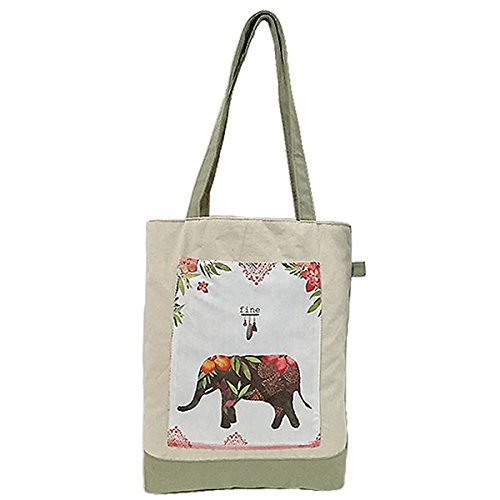 Hanshu Reusable Canvas Shopping Bags, Durable Convenient Grocery Bags,Foldable - Belt Mossimo Black