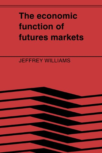 The Economic Function Of Futures Markets