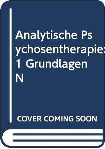 Amazon Com Analytische Psychosentherapie 1 Grundlagen N 9780387560298 Matussek Paul Books