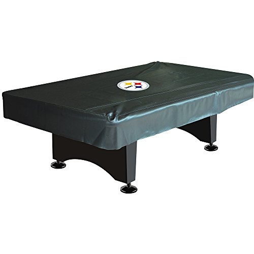 Pittsburgh Steelers NFL 8 Foot Pool Table - Table Pool Cover Pittsburgh