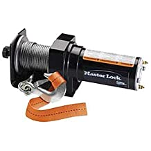 Master Lock 2955AT 1500-Pound Portable ATV Winch