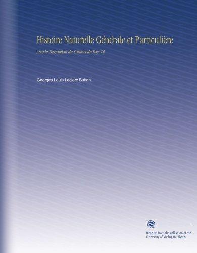 Histoire Naturelle [Pdf/ePub] eBook