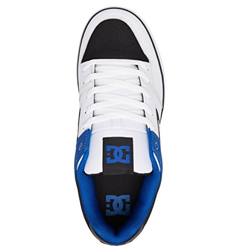 Shoes White Blue Pure Black DC q0Y8WFg4g