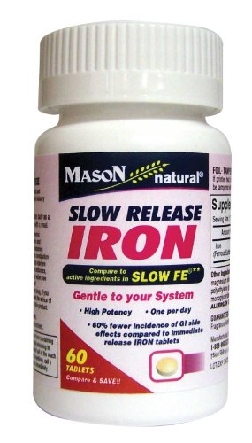mason-vitamins-slow-release-iron-compare-to-the-active-ingredients-in-slow-fe-60-tablets-pack-of-2