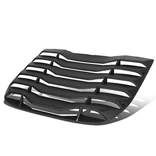 Rear Window Matte Vent Louver Windshield Sun Shade Cover Panel for Nissan 370Z Coupe 09-19