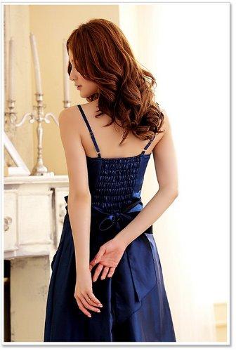 Vestido de francés noble Vestido Prom Azul vestido cóctel largo Bud noche vestido novia Caliente versión elegante fiesta venta de qCYwgRxR