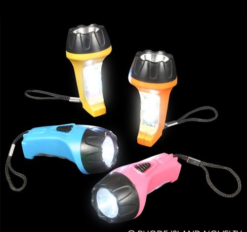 3'' TWO-IN-ONE FLASHLIGHT KEYCHAIN, Case of 288