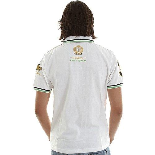 Eagle Square - Polo - Kommando Blanco/Verde. - Color Blanco Blanco ...