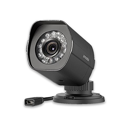 Zmodo SHO 720P HD Outdoor IP sPOE Network Camera (Newest Model, Female Micro USB Port) 3rd Generation