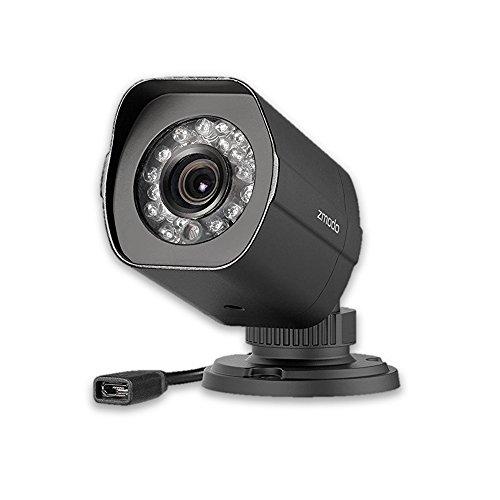 Zmodo 720P HD Outdoor IP sPOE Network Camera (Newest Model, Micro USB Port) 3rd Generation