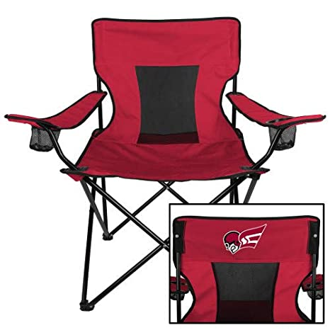 Enjoyable Amazon Com Collegefangear Erskine Deluxe Cardinal Captains Squirreltailoven Fun Painted Chair Ideas Images Squirreltailovenorg