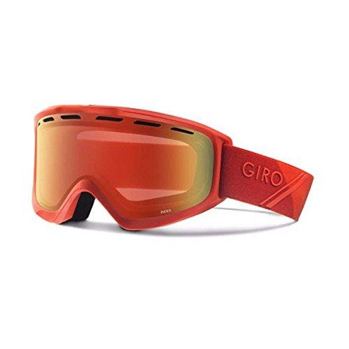 Giro 2018 Index OTG Ski Goggle - Red SportTech Frame/Amber Scarlet Lens - 7083049 - Giro Index Otg Snow Goggles