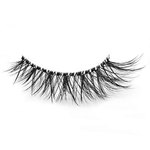 02d6ef4ef63 Handmade 3D Long Crossed Dramatic Look False Eyelash Comfortable for Makeup  2 Pairs Pack product image