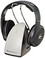 Sennheiser RS120 On-Ear Wireless RF Headphones with Charging Dock (Certified Refurbished)