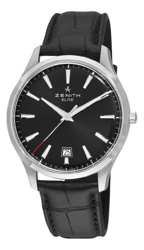 Zenith Elite Captain Central Second Ultra Thin Mens Watch 03202067021C493