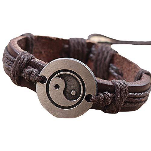 Jonerytime_ Bracelets Bracelets Tai Chi Ying Yang Men Women Wristband