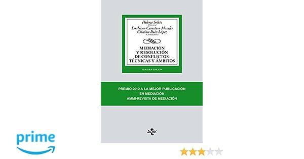 Mediación y resolución de conflictos: Técnicas y ámbitos ...