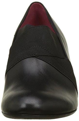 Gabor Damen Comfort Fashion Pumps Schwarz (Schwarz Fu Rot)