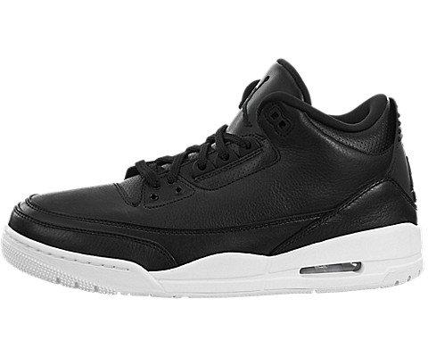 Nike Jordan Kids Air Jordan 3 Retro Bg Black/Black White Basketball Shoe 4.5 Kids US