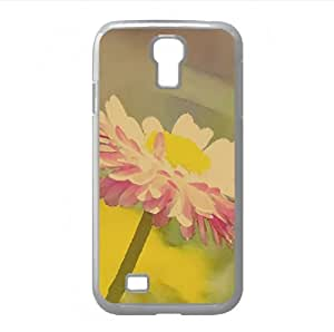 Beautiful Summer Flower Watercolor style Cover Samsung Galaxy S4 I9500 Case (Flowers Watercolor style Cover Samsung Galaxy S4 I9500 Case)