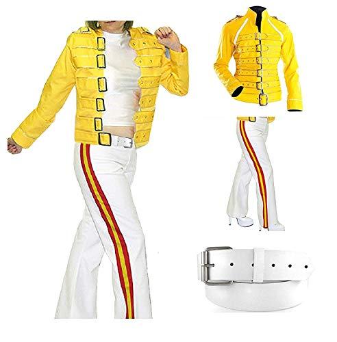 Freddie Mercury Costume Womens]()