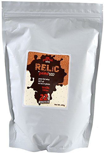 relic-paleo-protein-shake-grass-fed-whey-vanilla-bean-flavor-15-servings-690g