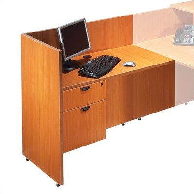 Offices to Go 42'' Reception Return - American Cherry