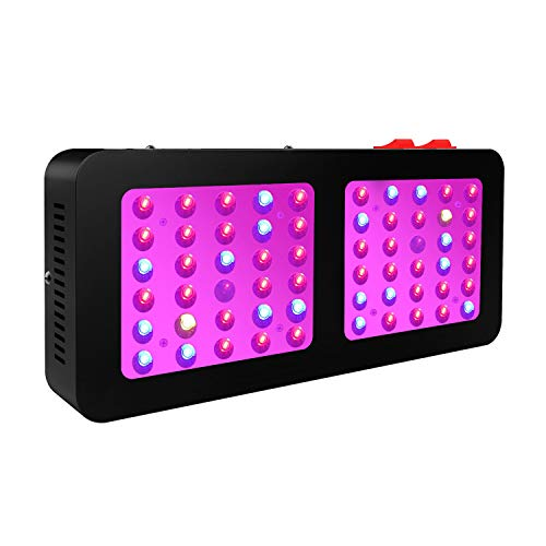 WILLS Led Grow Light, Newest Reflector Series Grow Light 600W Full Spectrum Veg Bloom Double Switch Led Plant Lights for Indoor Greenhouse Plants Veg and Flower Growing 10W LEDs