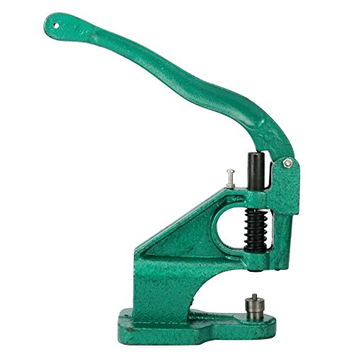 8milelake 3 Die Hand Press Grommet Machine #0#2#4 w/ 1500Pcs Grommets & Eyelet Feeding & Rolling Base by 8MILELAKE (Image #4)