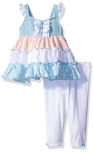 mixed print dress - 5